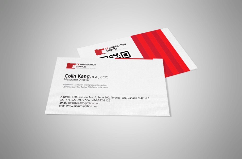Business Card – CK Immigration – Brian Of All Trades – Total IT ...